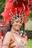Samba dancers Royalty Free Stock Images