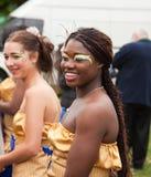 Samba dancers Stock Images