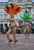Samba dancers Royalty Free Stock Image