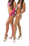 Samba dancers Royalty Free Stock Photo