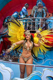 Samba dancers at carnival Royalty Free Stock Photography