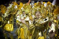 Samba Dancers en Carnaval Imagen de archivo libre de regalías