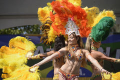 Samba dancers Stock Photos