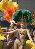 Samba dancers Stock Photography