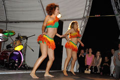 Samba dancers Stock Image