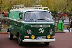 Samba di lusso del T1 del trasportatore di Volkswagen Fotografia Stock Libera da Diritti