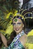 Samba do brazilica de Liverpool na cidade Imagem de Stock