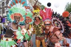 Samba do brazilica de Liverpool na cidade Foto de Stock