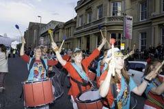 Samba do brazilica de Liverpool na cidade Fotos de Stock