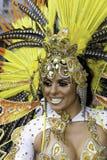 Samba do brazilica de Liverpool na cidade - Simon reeves Fotos de Stock