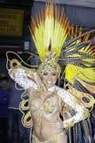 Samba do brazilica de Liverpool na cidade Simone Reeves Imagem de Stock