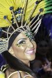 Samba do brazilica de Liverpool na cidade Simone Reeves Imagens de Stock Royalty Free
