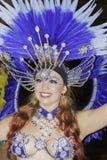 Samba do brazilica de Liverpool na cidade Simone Reeves Fotos de Stock