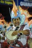 samba för de escola jacarepaguarenascer Royaltyfri Foto