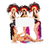 Samba girls Stock Photos