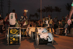 Samba przygotowanie instrumenty Obraz Royalty Free