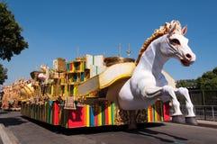 Samba School Cars royalty-vrije stock fotografie