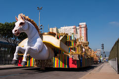 Samba School Cars royaltyfria bilder