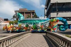 Samba School Vehicle in Rio de Janeiro lizenzfreie stockfotografie