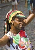 Samba Street Performer imágenes de archivo libres de regalías