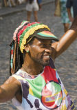 Samba Street Performer Royalty Free Stock Images
