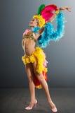 Samba tancerz zdjęcia royalty free