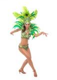Samba tancerz Obrazy Stock