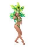 Samba tancerz fotografia stock