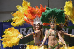 Samba tancerze fotografia stock
