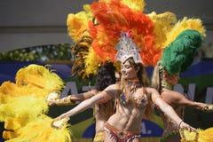 Samba tancerze zdjęcia stock