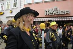 Sambadansers in Cobourg royalty-vrije stock fotografie