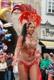 Sambadansers in Cobourg royalty-vrije stock foto's