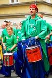 Sambakarneval i Coburg 13 Arkivfoto