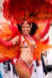 Sambakarneval in Kammgarn-stoff 3 Lizenzfreie Stockfotos
