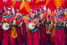 Sambakarneval Tokyos Asakusa lizenzfreies stockfoto