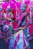 Sambakarneval Tokyos Asakusa lizenzfreie stockbilder