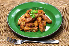 Sambal goreng tempe, indonesian food, vegetarian food Stock Photo