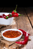 Sambal Oelek Royalty Free Stock Photos