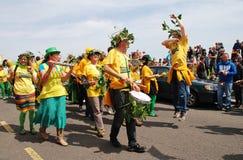 Sambalanco samba band, Hastings Stock Images