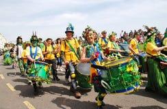 Sambalanco samba band, Hastings Stock Photos