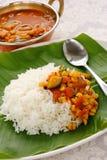 sambar риса кухни индийский южный Стоковое Фото