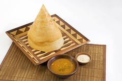 Sambar Dosa with Chutney Stock Photography