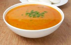 Sambar eller indisk curry Arkivfoton