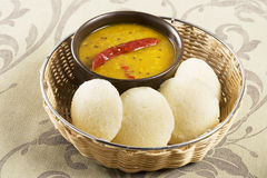 Sambar Idli or Sambar Idly Royalty Free Stock Photo
