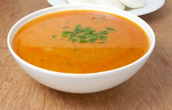 Sambar oder indischer Curry Stockfotos