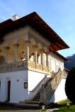 Sambata Monastery, Fagaras. Monastery Sambata is a Romanian Orthodox monastery in Sâmbăta de Sus, Brașov County, in the Transylvania region of Romania Stock Photo