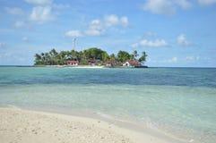 Samber Gelap海岛, Kotabaru,南婆罗洲,印度尼西亚 库存照片