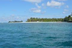 Samber Gelap海岛, Kotabaru,南婆罗洲,印度尼西亚 免版税图库摄影
