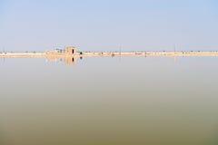 Sambhar Salt Lake, India fotos de stock