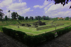 Sambisari-Tempel lizenzfreies stockbild